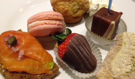 Afternoon Tea Hilton Markham Sweet and Savoury