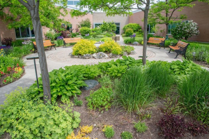 Friendship Gardens at the Headwaters Healthcare Centre