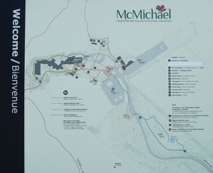 Culture Days McMichael Gallery_map of site