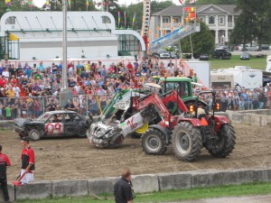 Port Perry Fair_demolition derby pick up